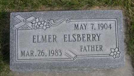 ELSBERRY, ELMER - Sheridan County, Nebraska   ELMER ELSBERRY - Nebraska Gravestone Photos