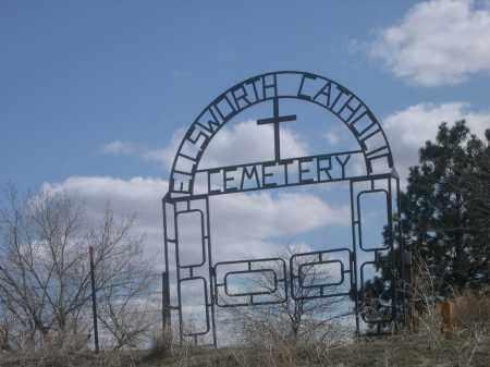 *ELSWORTH CATHOLIC CEMETERY, ENTRANCE TO - Sheridan County, Nebraska   ENTRANCE TO *ELSWORTH CATHOLIC CEMETERY - Nebraska Gravestone Photos