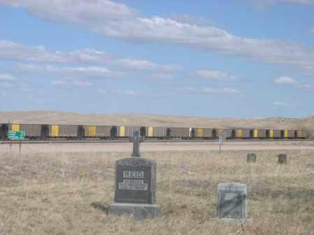 *ELSWORTH CATHOLIC CEMETERY, VIEW OF - Sheridan County, Nebraska | VIEW OF *ELSWORTH CATHOLIC CEMETERY - Nebraska Gravestone Photos