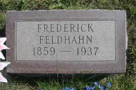 FELDHAHN, FREDERICK - Sheridan County, Nebraska | FREDERICK FELDHAHN - Nebraska Gravestone Photos