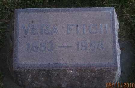 WOODHOUSE FITCH, VERA - Sheridan County, Nebraska | VERA WOODHOUSE FITCH - Nebraska Gravestone Photos