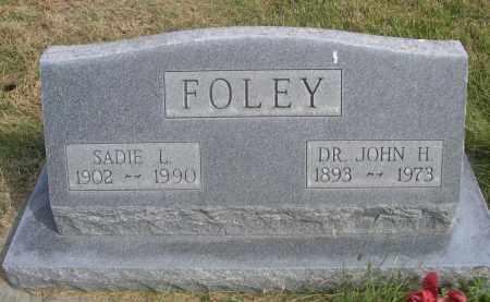 FOLEY, SADIE L. - Sheridan County, Nebraska | SADIE L. FOLEY - Nebraska Gravestone Photos