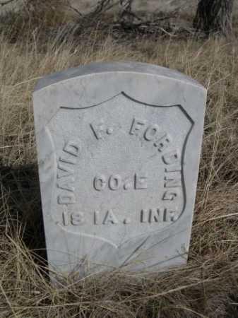 FORDING, DAVID F. - Sheridan County, Nebraska | DAVID F. FORDING - Nebraska Gravestone Photos