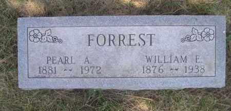 FORREST, WILLIAM E. - Sheridan County, Nebraska | WILLIAM E. FORREST - Nebraska Gravestone Photos