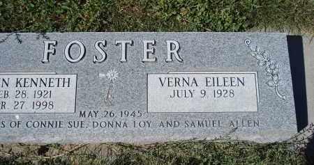FOSTER, VERNA EILEEN - Sheridan County, Nebraska   VERNA EILEEN FOSTER - Nebraska Gravestone Photos