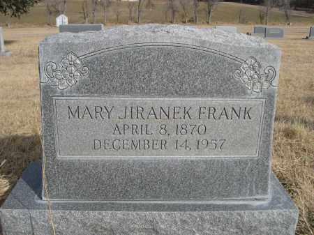 JIRANEK FRANK, MARY - Sheridan County, Nebraska | MARY JIRANEK FRANK - Nebraska Gravestone Photos