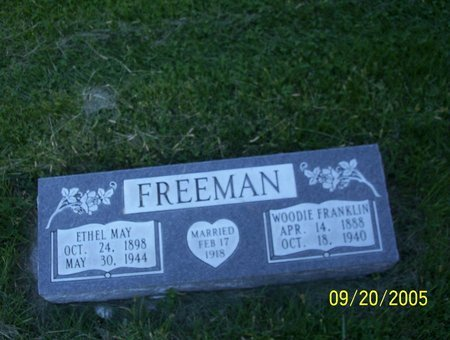 CARNS FREEMAN, ERHEL MAY - Sheridan County, Nebraska | ERHEL MAY CARNS FREEMAN - Nebraska Gravestone Photos
