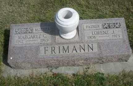 FRIMANN, LORENZ J. - Sheridan County, Nebraska | LORENZ J. FRIMANN - Nebraska Gravestone Photos