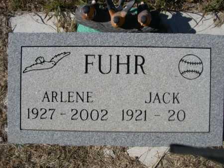 FUHR, ARLENE - Sheridan County, Nebraska | ARLENE FUHR - Nebraska Gravestone Photos