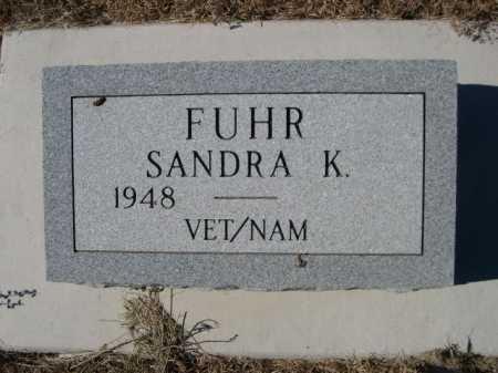 FUHR, SANDRA K. - Sheridan County, Nebraska   SANDRA K. FUHR - Nebraska Gravestone Photos