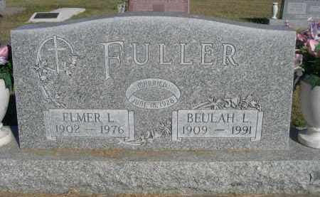 FULLER, BEULAH L. - Sheridan County, Nebraska | BEULAH L. FULLER - Nebraska Gravestone Photos