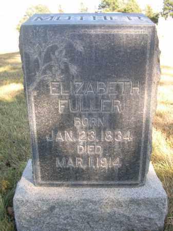 FULLER, ELIZABETH - Sheridan County, Nebraska | ELIZABETH FULLER - Nebraska Gravestone Photos
