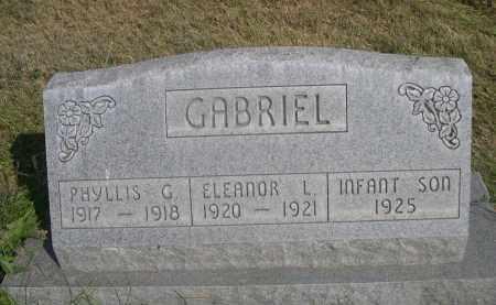 GABRIEL, PHYLLIS G. - Sheridan County, Nebraska | PHYLLIS G. GABRIEL - Nebraska Gravestone Photos