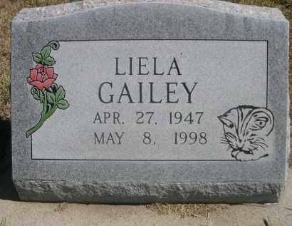GAILEY, LIELA - Sheridan County, Nebraska | LIELA GAILEY - Nebraska Gravestone Photos