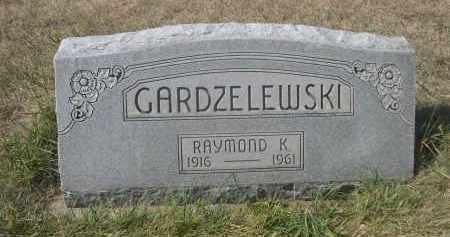 GARDZELEWSKI, RAYMOND K. - Sheridan County, Nebraska   RAYMOND K. GARDZELEWSKI - Nebraska Gravestone Photos