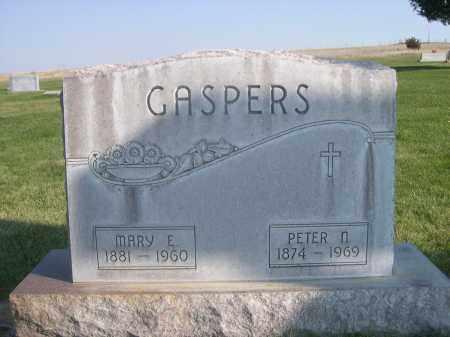 GASPERS, MARY E. - Sheridan County, Nebraska | MARY E. GASPERS - Nebraska Gravestone Photos