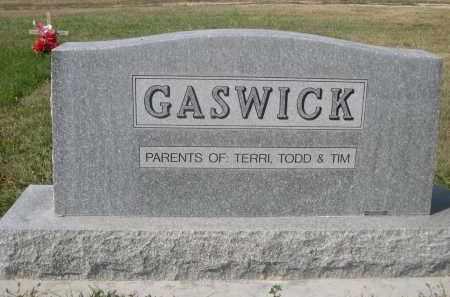 GASWICK, GEORGE - Sheridan County, Nebraska   GEORGE GASWICK - Nebraska Gravestone Photos