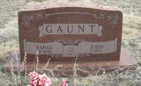 GAUNT, EMMA - Sheridan County, Nebraska | EMMA GAUNT - Nebraska Gravestone Photos