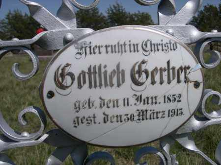 GERBER, GOTTLIEB - Sheridan County, Nebraska | GOTTLIEB GERBER - Nebraska Gravestone Photos