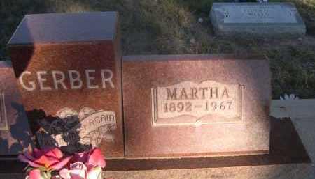 GERBER, MARTHA - Sheridan County, Nebraska | MARTHA GERBER - Nebraska Gravestone Photos