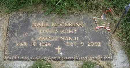 GERING, DALE M. - Sheridan County, Nebraska | DALE M. GERING - Nebraska Gravestone Photos
