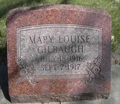 GILBAUGH, MARY LOUISE - Sheridan County, Nebraska   MARY LOUISE GILBAUGH - Nebraska Gravestone Photos