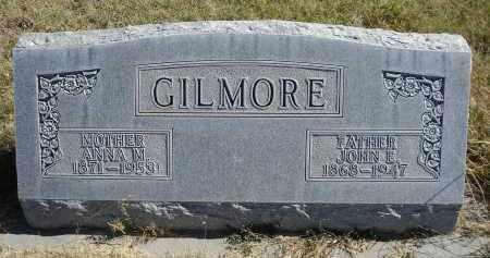 GILMORE, ANNA M. - Sheridan County, Nebraska | ANNA M. GILMORE - Nebraska Gravestone Photos