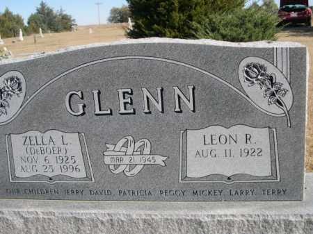 GLENN, ZELLA L - Sheridan County, Nebraska | ZELLA L GLENN - Nebraska Gravestone Photos