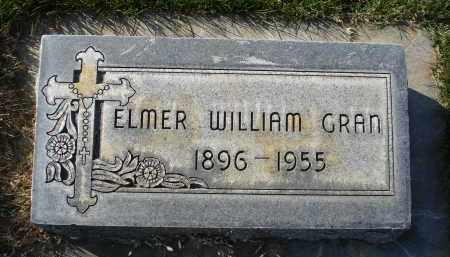 WILLIAM GRAN, ELMER - Sheridan County, Nebraska | ELMER WILLIAM GRAN - Nebraska Gravestone Photos