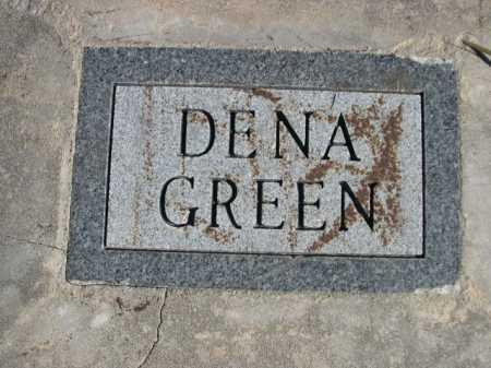 GREEN, DENA - Sheridan County, Nebraska | DENA GREEN - Nebraska Gravestone Photos
