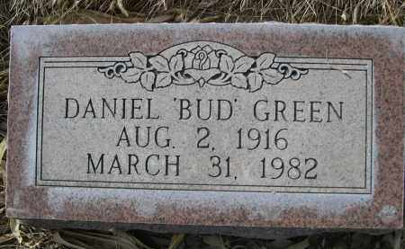 "GREEN, DANIEL ""BUD"" - Sheridan County, Nebraska   DANIEL ""BUD"" GREEN - Nebraska Gravestone Photos"