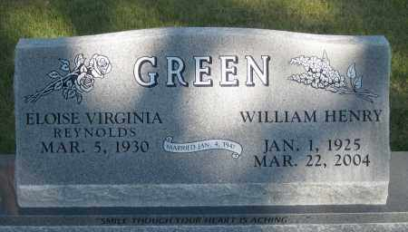 GREEN, ELOISE  VIRGINIA - Sheridan County, Nebraska | ELOISE  VIRGINIA GREEN - Nebraska Gravestone Photos