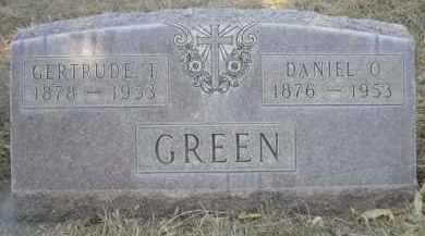 GREEN, DANIEL O. - Sheridan County, Nebraska | DANIEL O. GREEN - Nebraska Gravestone Photos