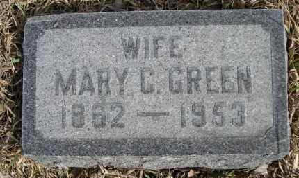 GREEN, MARY C. - Sheridan County, Nebraska | MARY C. GREEN - Nebraska Gravestone Photos