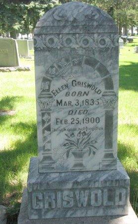 GRISWOLD, ELLEN - Sheridan County, Nebraska   ELLEN GRISWOLD - Nebraska Gravestone Photos