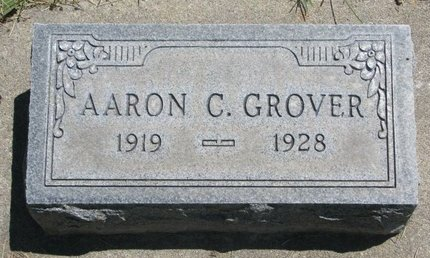 GROVER, AARON C. - Sheridan County, Nebraska | AARON C. GROVER - Nebraska Gravestone Photos