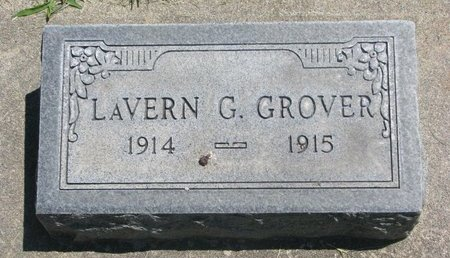 GROVER, LAVERN G. - Sheridan County, Nebraska | LAVERN G. GROVER - Nebraska Gravestone Photos