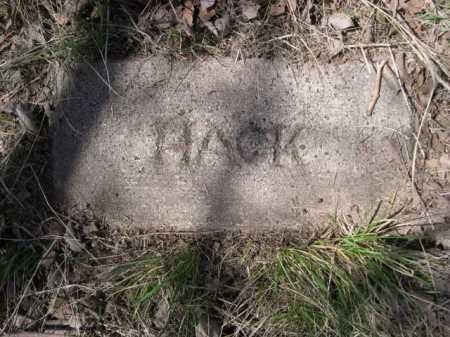 HACK, PLOT - Sheridan County, Nebraska | PLOT HACK - Nebraska Gravestone Photos