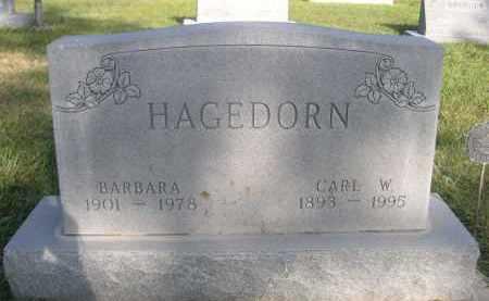 HAGEDORN, CARL W. - Sheridan County, Nebraska | CARL W. HAGEDORN - Nebraska Gravestone Photos