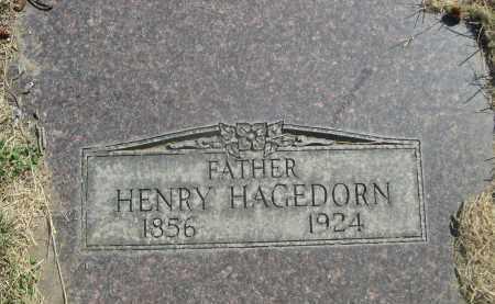 HAGEDORN, HENRY - Sheridan County, Nebraska   HENRY HAGEDORN - Nebraska Gravestone Photos
