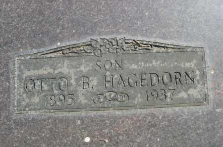 HAGEDORN, OTTO B. - Sheridan County, Nebraska | OTTO B. HAGEDORN - Nebraska Gravestone Photos