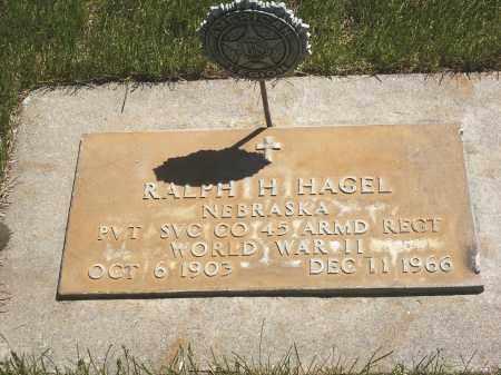 HAGEL, RALPH - Sheridan County, Nebraska | RALPH HAGEL - Nebraska Gravestone Photos