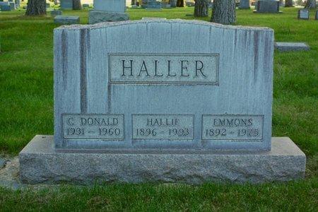 HALLER, CHARLES DONALD - Sheridan County, Nebraska   CHARLES DONALD HALLER - Nebraska Gravestone Photos