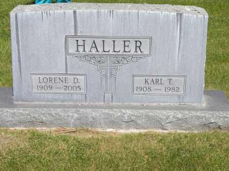 HALLER, KARL THEODORE - Sheridan County, Nebraska | KARL THEODORE HALLER - Nebraska Gravestone Photos