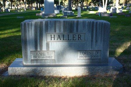 HALLER, LORENE D - Sheridan County, Nebraska   LORENE D HALLER - Nebraska Gravestone Photos