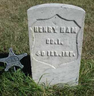 HAM, HENRY - Sheridan County, Nebraska   HENRY HAM - Nebraska Gravestone Photos