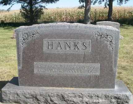 HANKS, FRANCIS A. - Sheridan County, Nebraska   FRANCIS A. HANKS - Nebraska Gravestone Photos