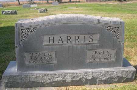 HARRIS, ELGIE L.G. - Sheridan County, Nebraska | ELGIE L.G. HARRIS - Nebraska Gravestone Photos