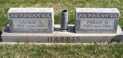 HARRIS, PHILLIP M. - Sheridan County, Nebraska | PHILLIP M. HARRIS - Nebraska Gravestone Photos