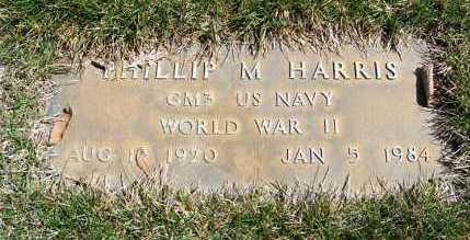 HARRIS, PHILLIP M. - Sheridan County, Nebraska   PHILLIP M. HARRIS - Nebraska Gravestone Photos